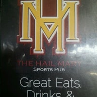 Photo taken at The Hail Mary Sports Pub by Andy W. on 10/7/2011