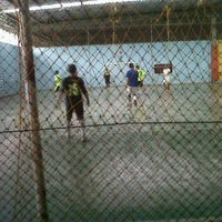 Photo taken at Mayasari Futsal by jemi shukaa s. on 9/13/2011