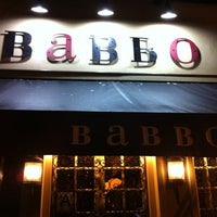 Photo taken at Babbo Ristorante by HiDe T. on 12/8/2011