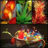 Photo taken at Chihuly Exhibit @ The MFA by Melody R. on 8/7/2011