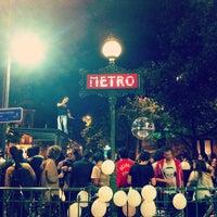 Photo taken at Métro Odéon [4,10] by M. V. on 6/21/2012