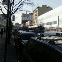 Photo taken at MTA Bus - E 125 St & Lexington Av (Bx15/M35/M60-SBS/M98/M100/M101) by 0zzzy on 3/12/2012