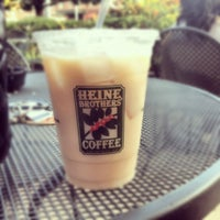 Photo taken at Heine Brothers Coffee by Olivia R. on 8/3/2012