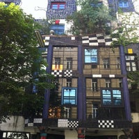 Photo taken at KUNST HAUS WIEN. Museum Hundertwasser by Valentina C. on 6/27/2012