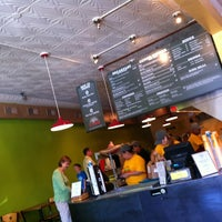 Photo taken at District Taco by Mo R. on 6/9/2012