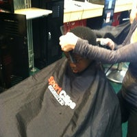 Photo taken at Sport Clips Haircuts of Western Hills by L. Danyetta N. on 5/6/2012