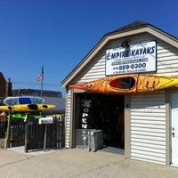 Photo taken at Empire Kayaks by Shu K. on 7/22/2012