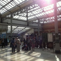 Photo taken at Eastbourne Railway Station (EBN) by Stella H. on 8/18/2011