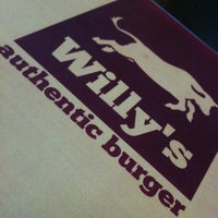 Photo taken at Willy's Authentic Burger by Fábio C. on 12/3/2011