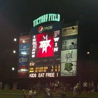 Photo taken at Victory Field by Nick N. on 7/15/2012