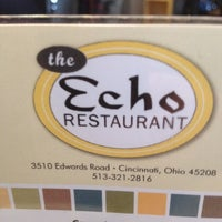Photo taken at Echo Restaurant by Sue P. on 2/25/2012