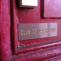 Photo taken at Club De La Presse Metz Lorraine by TOUT METZ .. on 4/6/2012