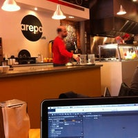 Photo taken at Arepa Cafe by Tetsuya O. on 2/25/2012