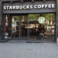 Photo taken at Starbucks Coffee by Nemanja I. on 5/15/2012