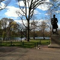 Photo taken at The Swan Boats by Jenn K. on 4/5/2012