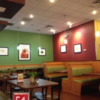 Photo taken at Crispers Fresh Salads, Soups and Sandwiches by Beau C. on 7/15/2012