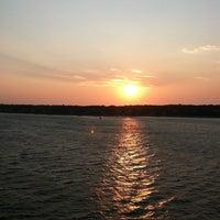 Photo taken at Vineyard Haven Harbor by Stev M. on 8/31/2012