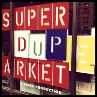 Photo taken at SUPER(DUPER)MARKET by Marc E. on 7/15/2012
