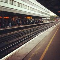 Photo taken at Southampton Central Railway Station (SOU) by Víctor Manuel M. on 7/7/2012