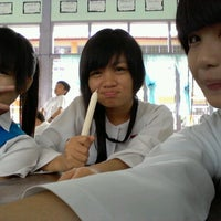 Photo taken at SMK LAWAS, LAWAS by Stacy L. on 8/6/2012