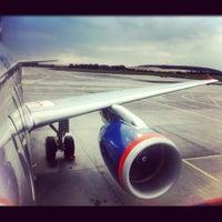 Photo taken at Bolshoye Savino International Airport (PEE) by 😋Olesya Y. on 8/6/2012