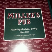 Photo taken at Miller's Pub by Richard S. on 3/23/2012