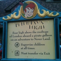 Photo taken at Peter Pan's Flight by D14BLO on 2/24/2012