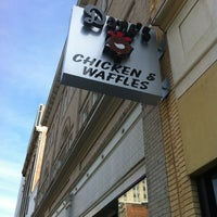 Photo taken at Dame's Chicken & Waffles by William P. on 6/16/2012