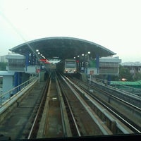 Photo taken at RapidKL Sentul Timur (ST11) LRT Station by Bob M. on 6/24/2012
