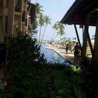 Photo taken at Lanta Pura Beach Resort by Little Sweety. on 2/18/2012