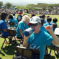 Photo taken at Kamali'i Elementary Hm of The Pueo by Chris O. on 5/18/2012