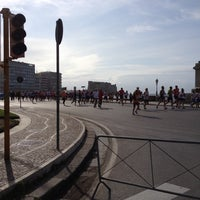 Photo taken at Piazza Vittoria by RoadTv I. on 4/22/2012