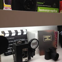 Photo taken at Lomography Gallery Store Madrid-Argensola by Lucía P. on 4/26/2012