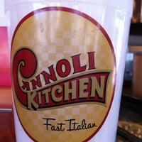 Photo taken at Cannoli Kitchen by Jeff M. on 7/12/2012