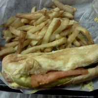 Photo taken at Hot Diggity Dogs by Rebekah H. on 9/2/2011