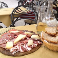 Photo taken at Piccola Osteria Lucca Drento by Dani A. on 5/26/2012