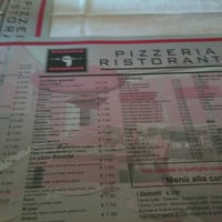 Photo taken at Pizzeria Re Artu' by Davide M. on 3/5/2012