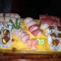 Photo taken at Asahi Sushi by Jessica N. on 12/20/2011