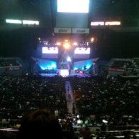 Photo taken at SMART Araneta Coliseum -- Annebisyosa Concert by Kym P. on 1/29/2012