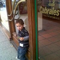Photo taken at Cabrales by Georgi D. on 4/7/2012