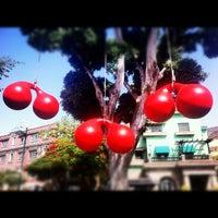 Photo taken at Ramblas de Santa Cruz by Sven H. on 7/10/2012