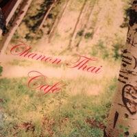 Photo taken at Chanon Thai Cafe by Jason D. on 4/6/2012