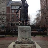 Photo taken at Robert Morris Statue by Sharayah L. on 3/13/2012