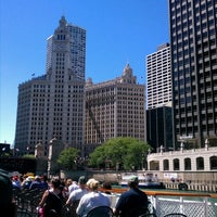 Photo taken at Chicago Architecture Foundation River Cruise by James G. on 6/25/2012