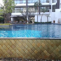 Photo taken at Woodlands Suites Serviced Residences Pattaya by Vika K. on 12/25/2011