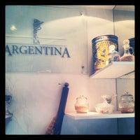 Photo taken at Panadería La Argentina by Nicolás B. on 5/9/2012