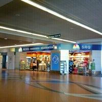 Photo taken at Sarasota-Bradenton International Airport (SRQ) by Adam B. on 10/25/2011