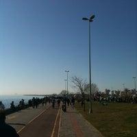 Photo taken at Erenköy Sahil by Çağlar Ö. on 3/18/2012