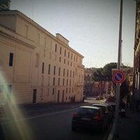 Photo taken at Piazza del Teatro (Piazza Verdi) by Angela S. on 12/29/2011
