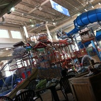 Photo taken at Water Park Of America by Jen E. on 8/23/2011
